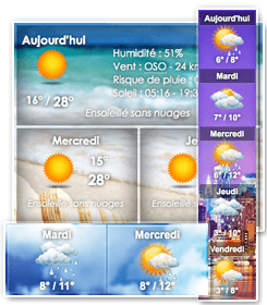 Plugin météo wordpress
