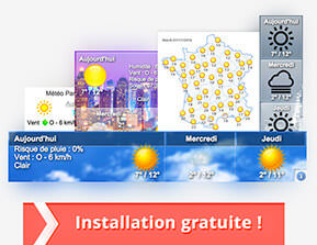 Widget météo Blendecques